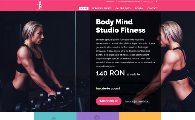 BODY MIND STUDIO – SALĂ FITNESS
